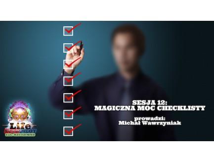 WEBINAR: Magiczna moc checklisty