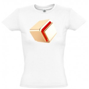 Koszulka Milioner Jak Ty (damska, biała)