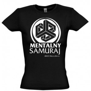 Koszulka Mentalny Samuraj (damska)