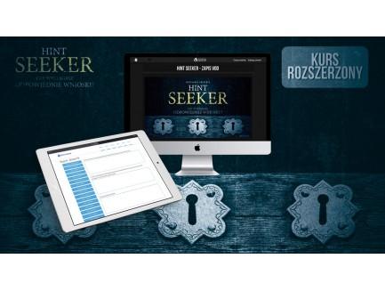 Hint Seeker - rozszerzony kurs online (Home Study Edition) - przedprzedaż