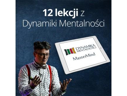 12 lekcji o Dynamice Mentalności - zapis VOD