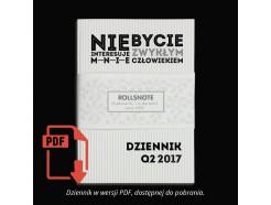 """Dziennik """"MentalWay"""" - Q2 2017 w wersji PDF (przedsprzedaż)"""