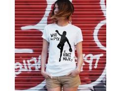 """Koszulka damska """"Who the f*ck is Kołcz Majk"""" (przedsprzedaż)"""