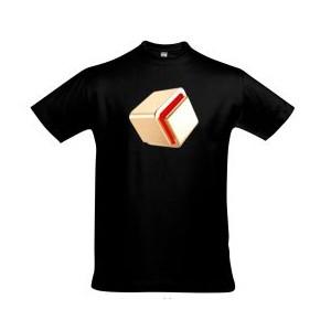 Koszulka Milioner Jak Ty (męska, czarna)