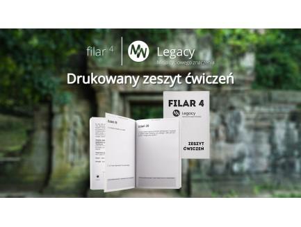 Zeszyt ćwiczeń Filar 4: Dziedzictwo - drukowany (przedsprzedaż)
