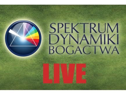 Zapis VOD z live'a  Spektrum Dynamiki Bogactwa LIVE