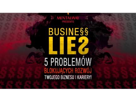 "Zapis MP3 ""BUSINESS LIES LIVE+"""