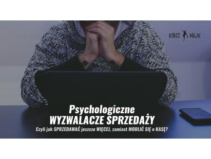 """Zapis VOD warsztatu """"Psychologiczne wyzwalacze sprzedaży"""" (przedsprzedaż)"""