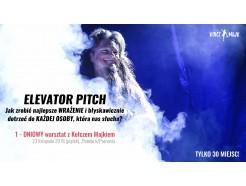 """Bilet na WARSZTAT """"Elevator Pitch"""""""