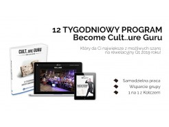 12 tygodniowy program Become Cult..ure Guru