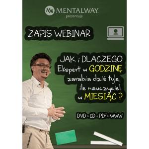 JAK i DLACZEGO Ekspert w GODZINĘ zarabia dziś tyle ile nauczyciel w MIESIĄC? Webinar