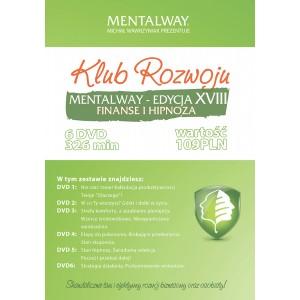 Klub Rozwoju Mentalway XVIII - Finanse i Hipnoza