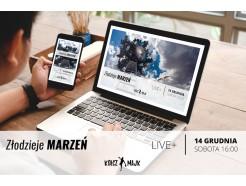 Sobotnie szkolenie online - LIVE+ ZŁODZIEJE marzeń - 14 grudnia 2019