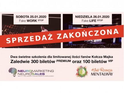 Bilety na 2 styczniowe szkolenia - Neuro Marketing & Neuro Sales oraz Klub Rozwoju MentalWay - 2020