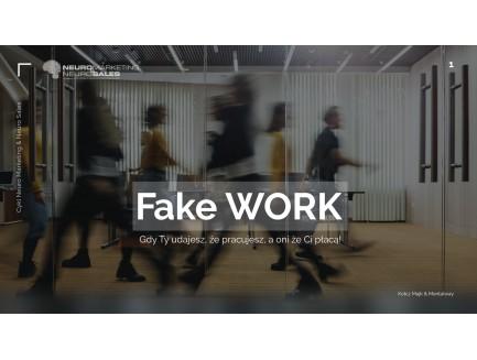 Zapis VOD i MP3 - FakeWORK oraz FakeLIFE
