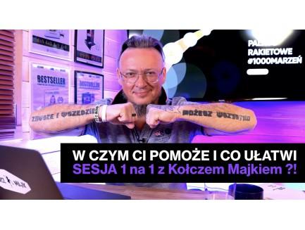 Private LIVE stream - szkolenie VIP/ konsultacja/ LIVE show/ - audio/video z Kołczem Majkiem