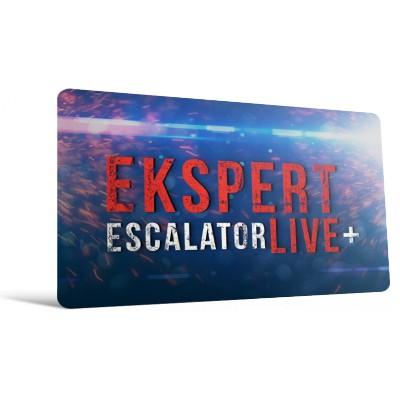 Udział w Ekspert Escalator LIVE - 7 modułów