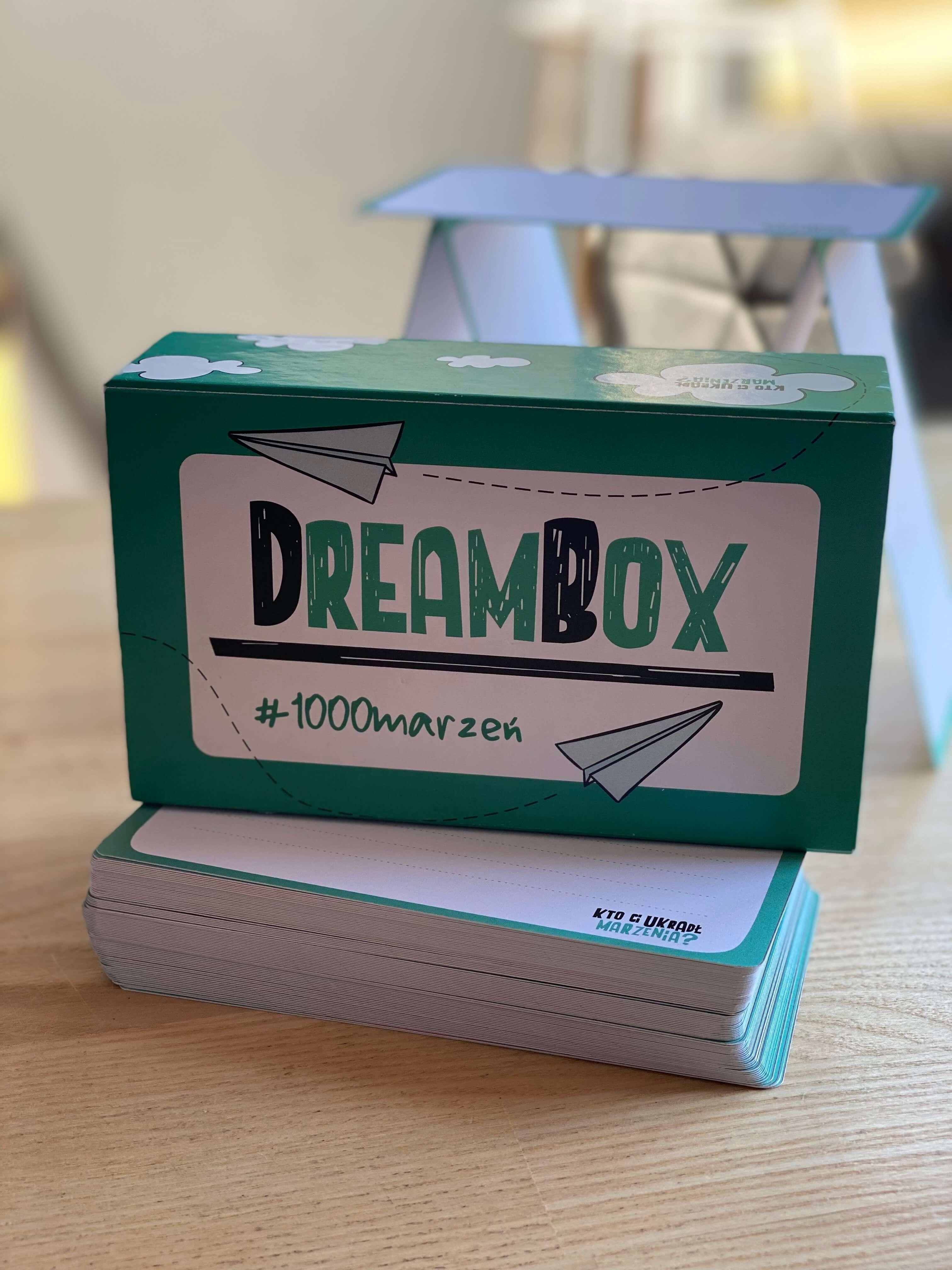 Prototypowe pudełko łapacza marzeń #DreamBOX